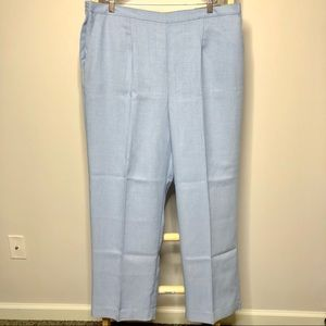 Alfred Dunner NWT Classic Fit Southampton Pants